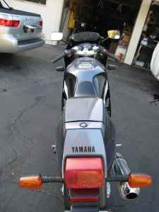 1990 FZR400 Yamaha For Sale on Craigslist Rear View