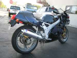 1990 FZR400 Yamaha For Sale on Craigslist Back-end