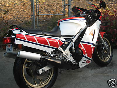 1985 Yamaha RZ500 For Sale Back