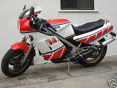 1985 Yamaha RZ500 For Sale Side View