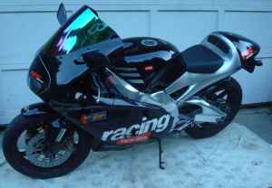 2000 Aprilia RS250 For Sale Black