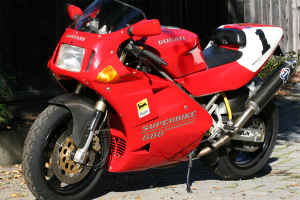 1993 ducati 888 spo: yep another one for sale! - rare sportbikes