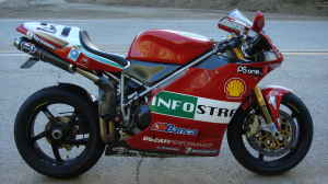 2002 Ducati 998s Troy Bayliss