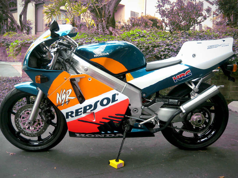 1996 honda repsol nsr 250 sp mc28 143 for sale rare sportbikes for sale. Black Bedroom Furniture Sets. Home Design Ideas