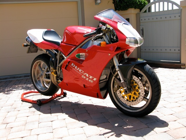 Two Rare Ducati Superbikes For Sale: 916SPS and 996R - Rare ...