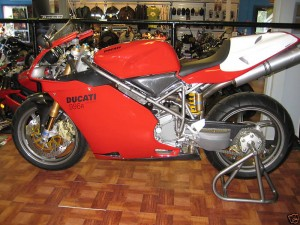 2001 Ducati 996R For Sale with only 1 mile