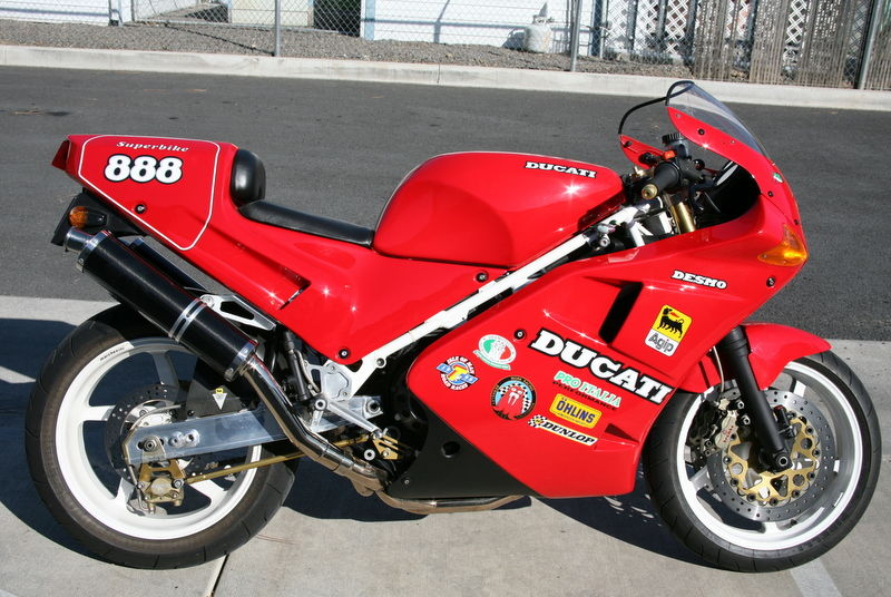 wednesday rapid post: wes cooley project, bimota sb6r, ducati 851