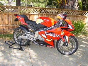 2009 Aprilia RS125 For Sale Street Legal California