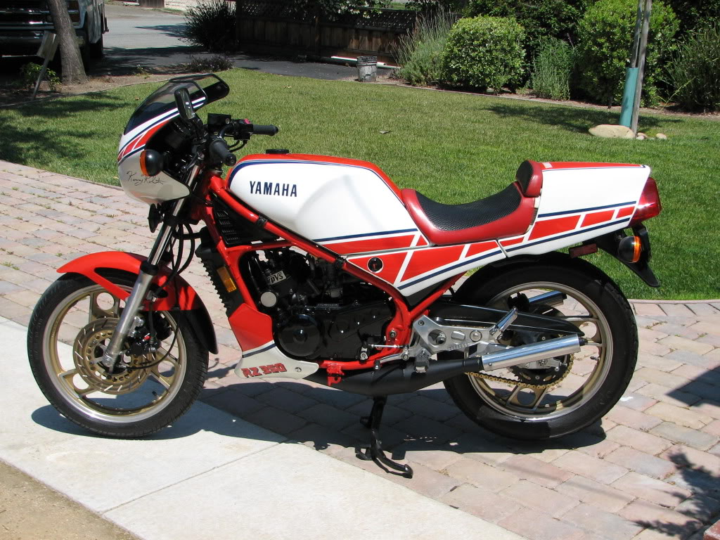 1985 yamaha rz350 nc for sale in the bay area rare for Yamaha rz for sale