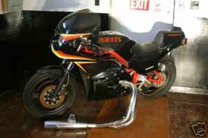 harris magnum frame kit for sale on chicago craigslist rare sportbikes for. Black Bedroom Furniture Sets. Home Design Ideas