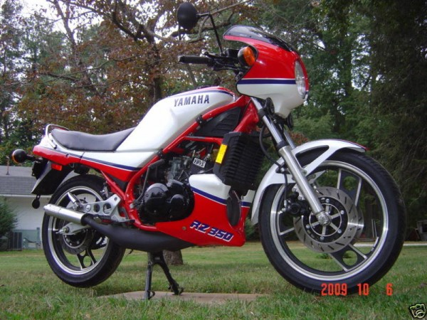 1984 yamaha rz 350 with super low miles rare for Yamaha rz for sale