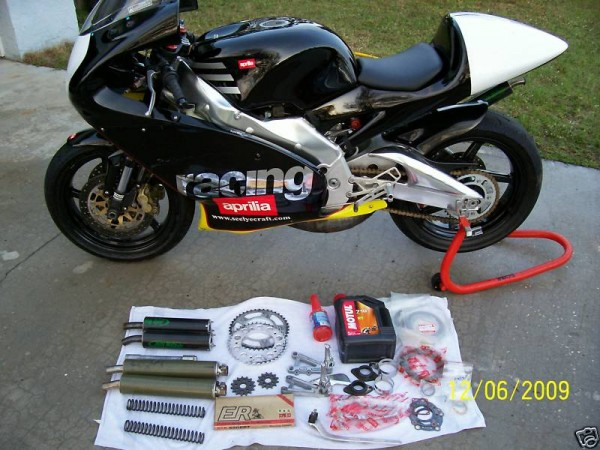 2000 Aprilia RS 250 Cup bike on ebay - Rare SportBikes For Sale