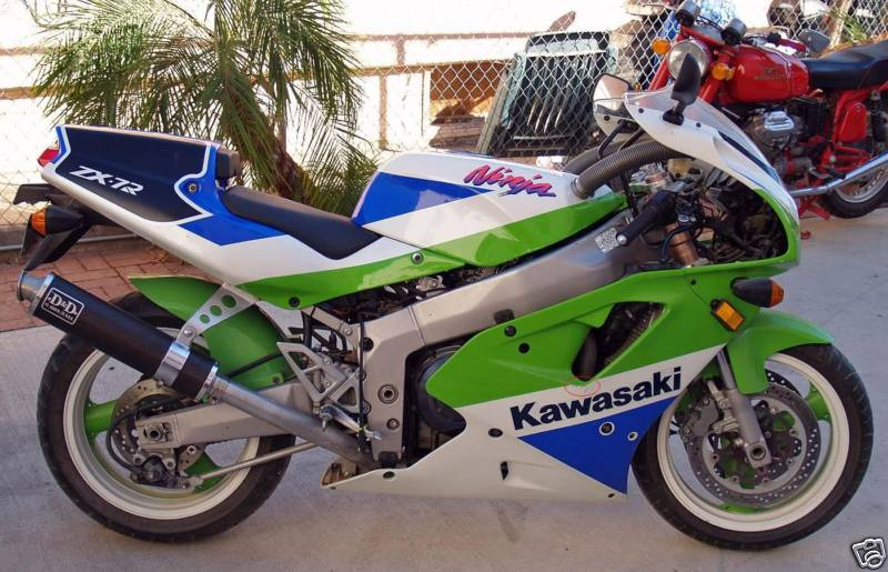 Zx7r Side View Rare Sportbikes For Sale