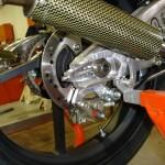 KTM 125 exhaust canister