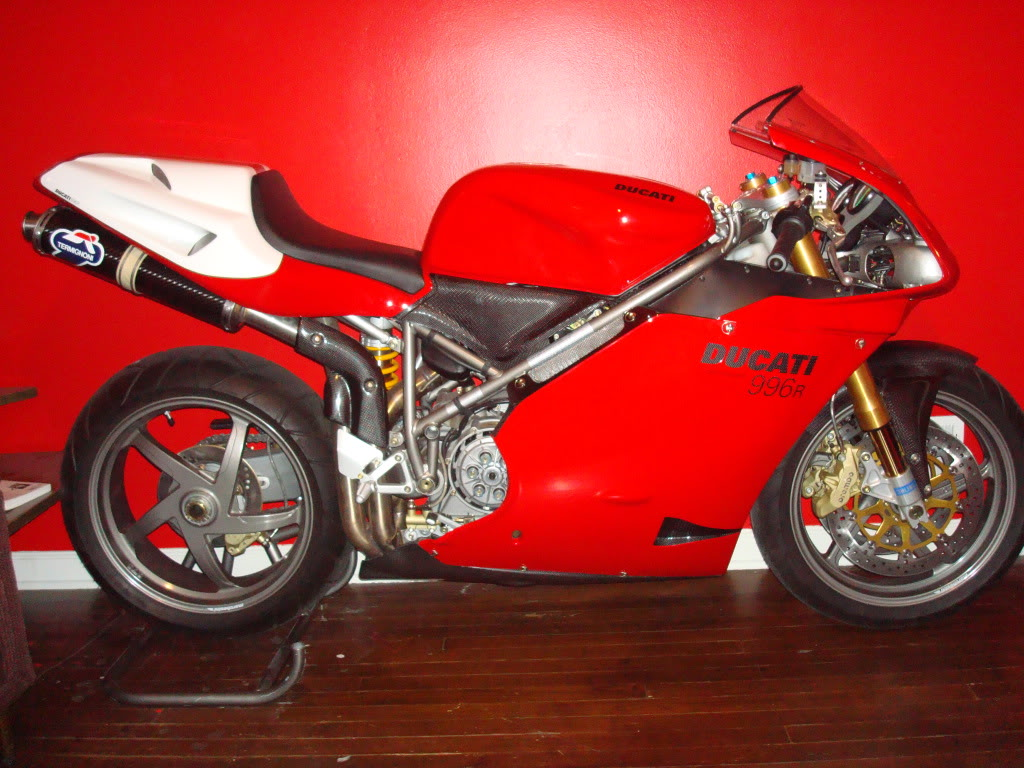 2001 Ducati 996R With 135 Total Miles - Rare SportBikes For Sale