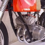 1962 Yamaha YDS1R Engine Left