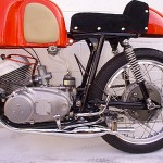 1962 Yamaha YDS1R Left Engine