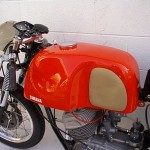 1962 Yamaha YDS1R Left Tank