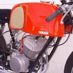 1962 Yamaha YDS1R Tank Right