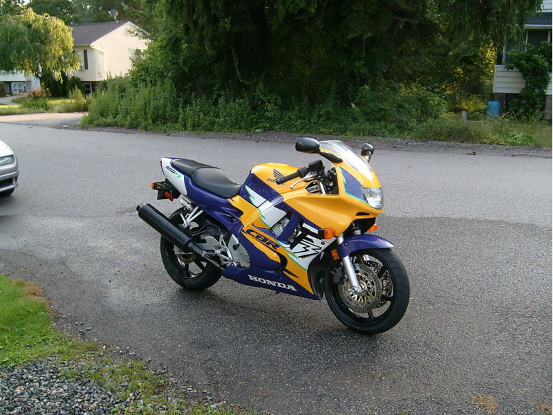 1997 cbr 600 f3 what there worth