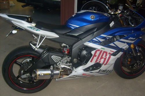 2007 yamaha r6 with factory fiat fairing kit rare sportbikes for sale. Black Bedroom Furniture Sets. Home Design Ideas