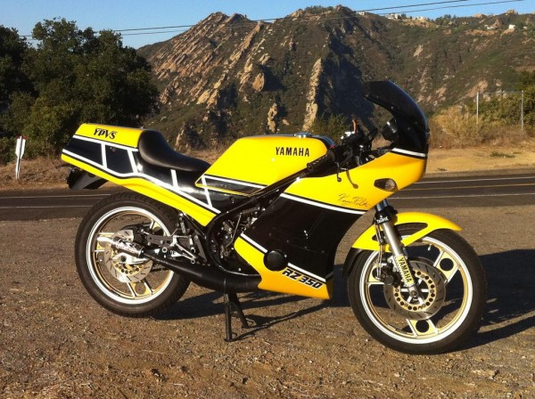 Really clean yamaha rz350 in los angeles rare sportbikes for Yamaha rz for sale