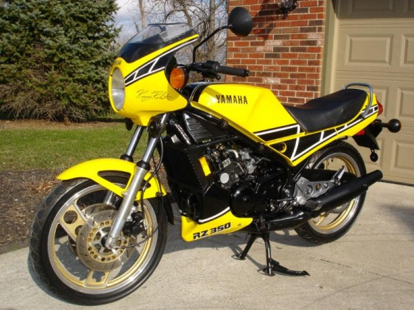 Another of kenny 39 s rides 1985 yamaha rz350 rare for Yamaha rz for sale