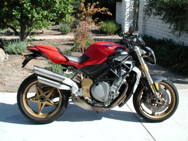 oro or america? your choice. 2004 mv agusta brutale oro and 2006