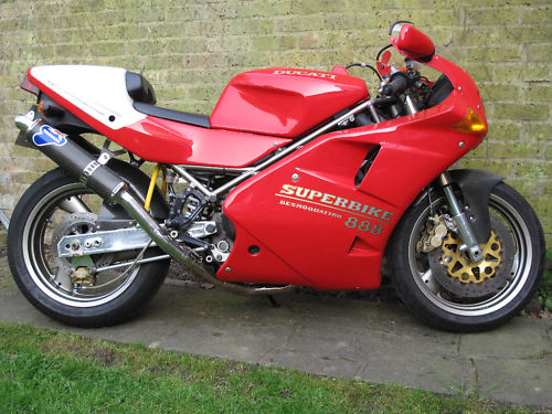 Heck With The Wedding 1995 Ducati 888 SP5 In The UK