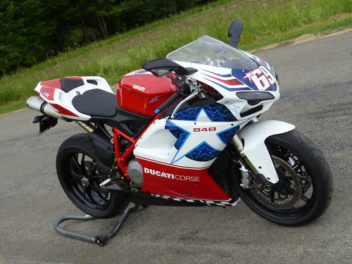 Go Nicky! Ducati 848 Hayden Edition For Sale - Rare SportBikes For