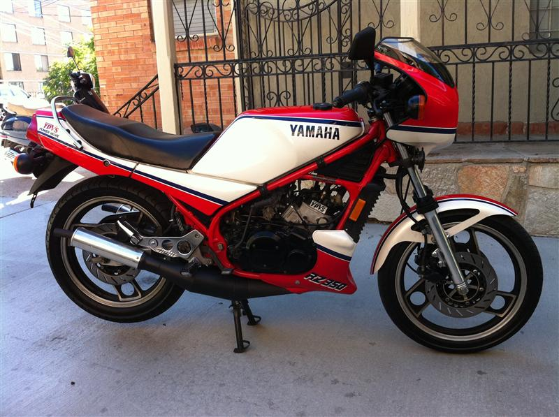 1984 yamaha rz350 for sale with only 5366 miles rare for Yamaha rz for sale