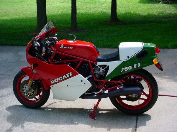 pickled duc: 1988 ducati 750 f1 - rare sportbikes for sale