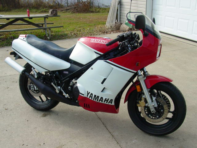Us import 1985 yamaha rz 500 rare sportbikes for sale for Yamaha rz for sale