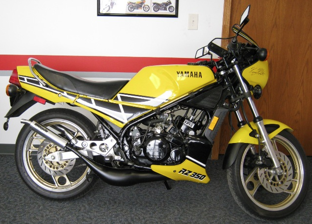 Clean 39 84 yamaha rz350 kenny roberts edition rare for Yamaha rz for sale