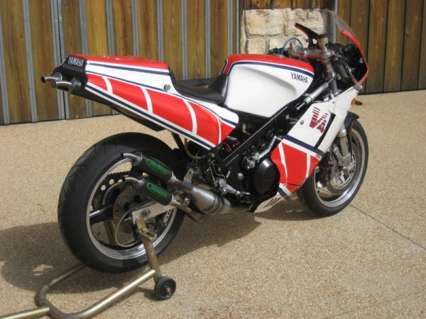 Same goal different path heavily modified 1985 yamaha for Yamaha rz for sale
