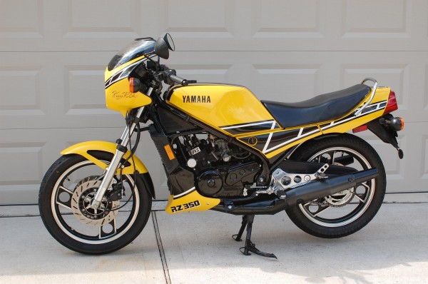 Unmolested original 1984 yamaha rz350 rare sportbikes for Yamaha rz for sale