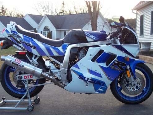 like your graphics big and purpley check this 39 92 gsx r 1100 rare sportbikes for sale. Black Bedroom Furniture Sets. Home Design Ideas