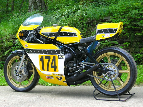 wow restored 1975 yamaha tz750 rare sportbikes for sale