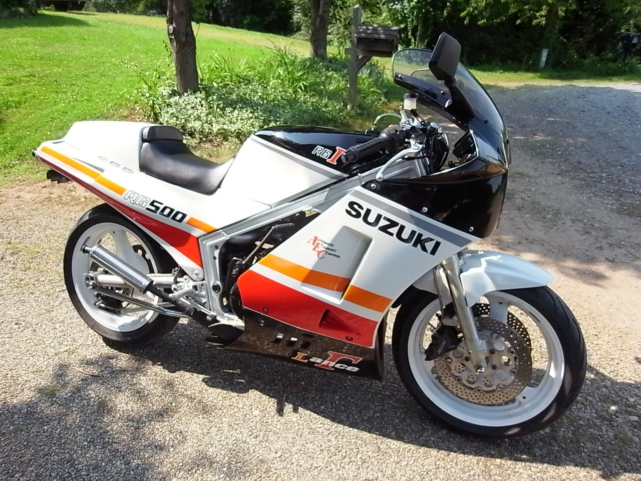 lance gamma bike 1986 suzuki rg500 for sale rare sportbikes for sale. Black Bedroom Furniture Sets. Home Design Ideas