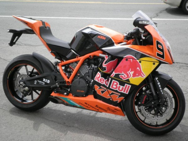 red bull gives ktm wings: 3 ktm rc8r red bull editions! - rare