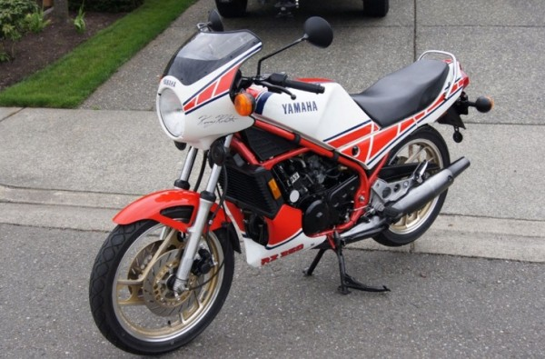 Collector alert yamaha rz350 with only 561 miles up for for Yamaha rz for sale
