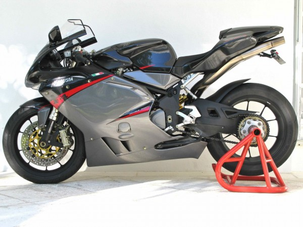 nearly new, nearly perfect: 2008 mv agusta f4 312r - rare