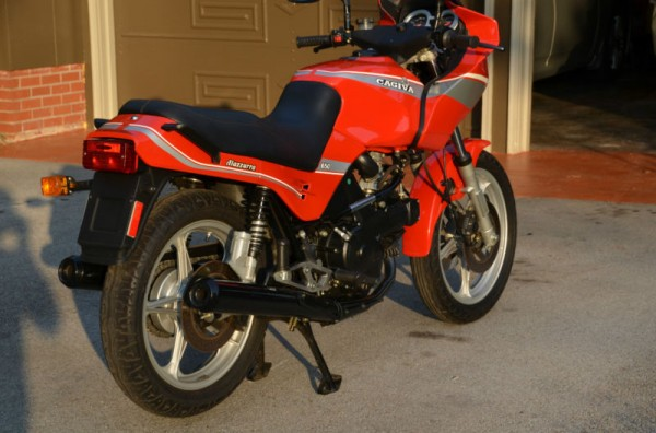 Nearly New 1987 Cagiva Alazzurra 650 Rare SportBikes For Sale