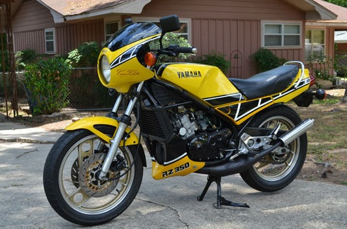 Clean 39 84 yamaha kenny roberts rz350 rare sportbikes for for Yamaha rz for sale