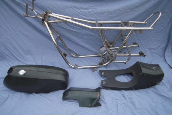 different - Motorcycle Frame For Sale