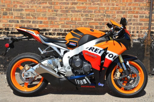 Medium Rare 2009 Honda CBR1000RR Repsol Edition