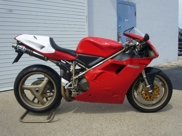 nd New 1998 Ducati 916 SPS - Rare SportBikes For Sale