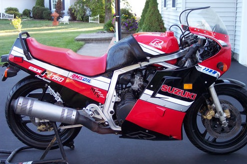 1986 Suzuki GSX-R 750 For Sale