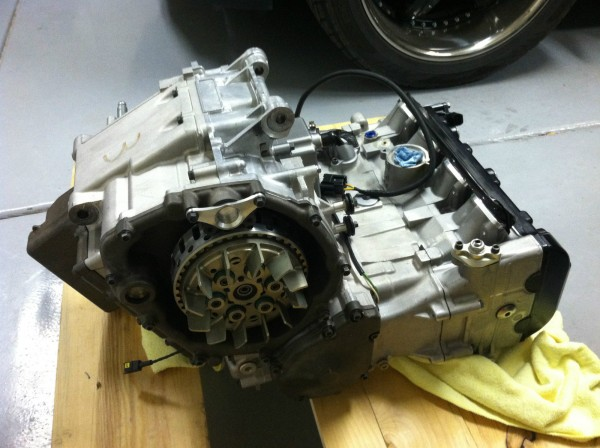 parts bin: just a 2000-03 suzuki gsxr750 wsb spec engine - rare