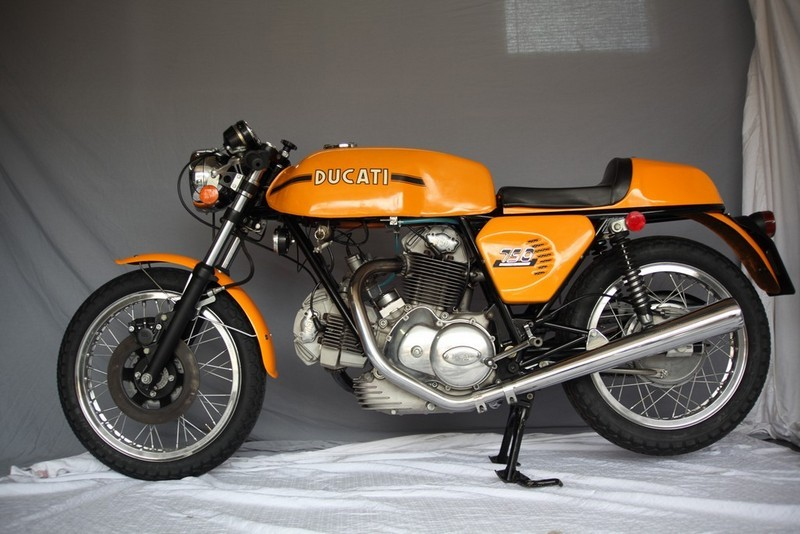 original unrestored 1974 ducati 750 sport with 3000 miles rare sportbikes for sale. Black Bedroom Furniture Sets. Home Design Ideas